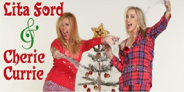Lita Ford en Cherie Currie