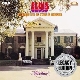 LEGACY RECORDINGS ELVIS RECORDED LIVE ON STAGE IN MEMPHIS