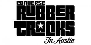 CONVERSE INC. RUBBER TRACKS IN AUSTIN LOGO