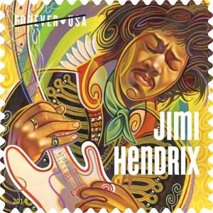 U.S. POSTAL SERVICE JIMI HENDRIX STAMP