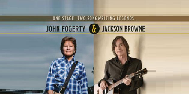 John Fogerty and Jackson Browne