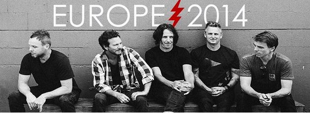 Pearl Jam europe 2014