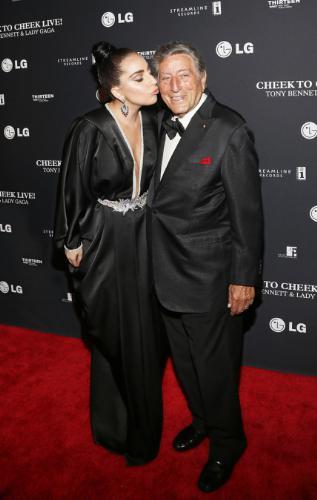 LG Electronics USA Lady Gaga Tony Bennett