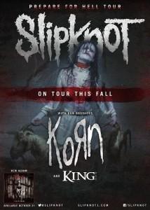 Live Nation Entertainment Slipknot Tour