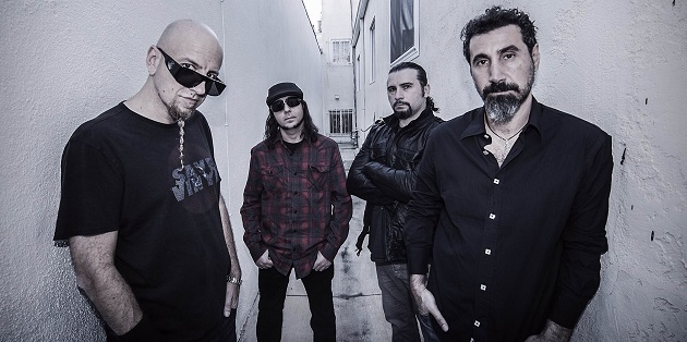 System Of A Down credit Frank Maddocks