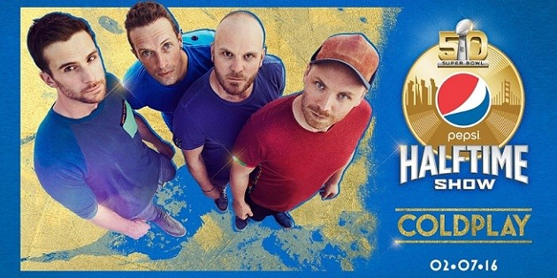 National Football League Coldplay Super Bowl 50 Halftime Show