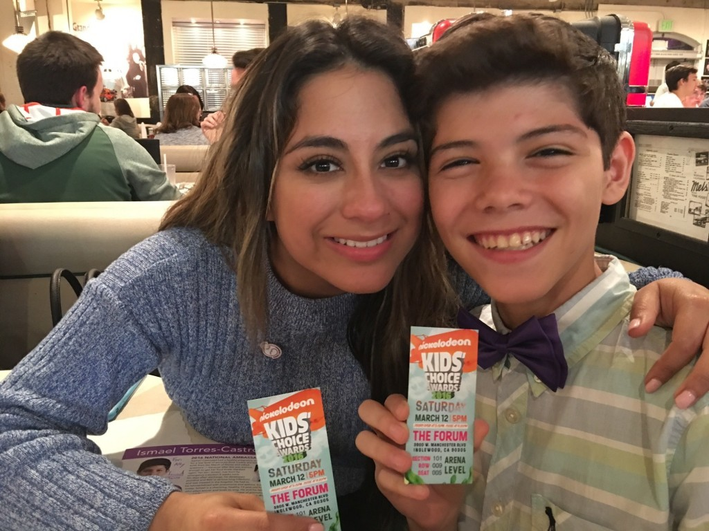 Ismael and Ally with KCA tix