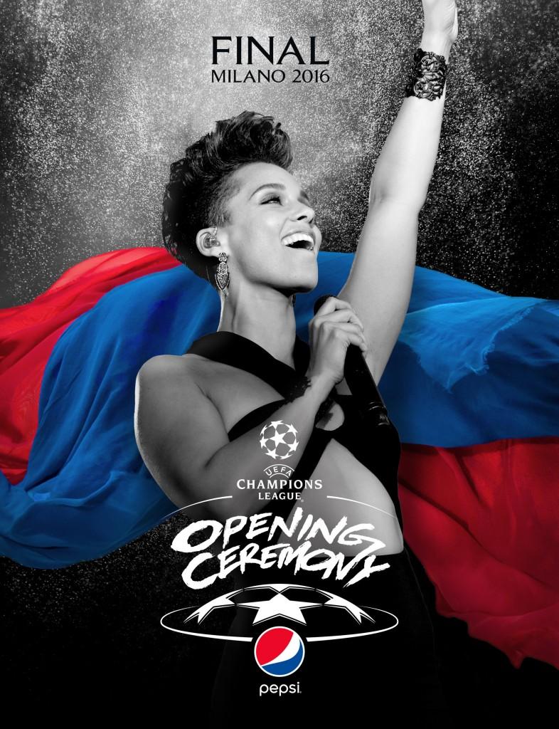 PepsiCo UEFA Alicia Keys