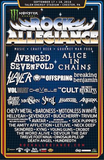 Rock allegiange