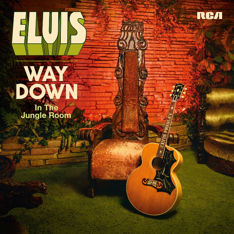 Legacy Recordings ELVIS - WAY DOWN IN THE JUNGLE ROOM COVER ARTWORK