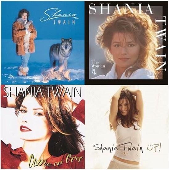 Mercury Nashville Shania Twain Vinyl Image