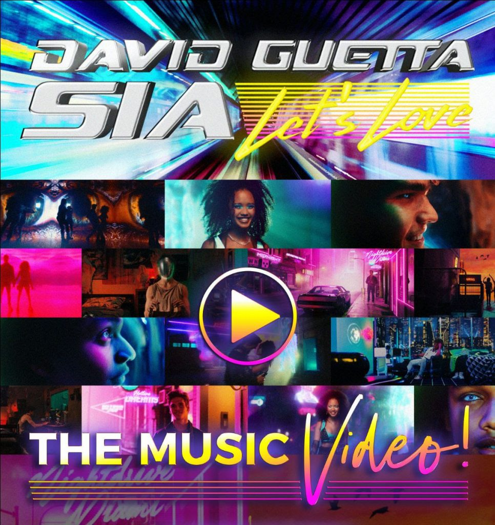 David Guetta & Sia reveal beautiful video for new smash single 'Let's Love'  – Maxazine.com